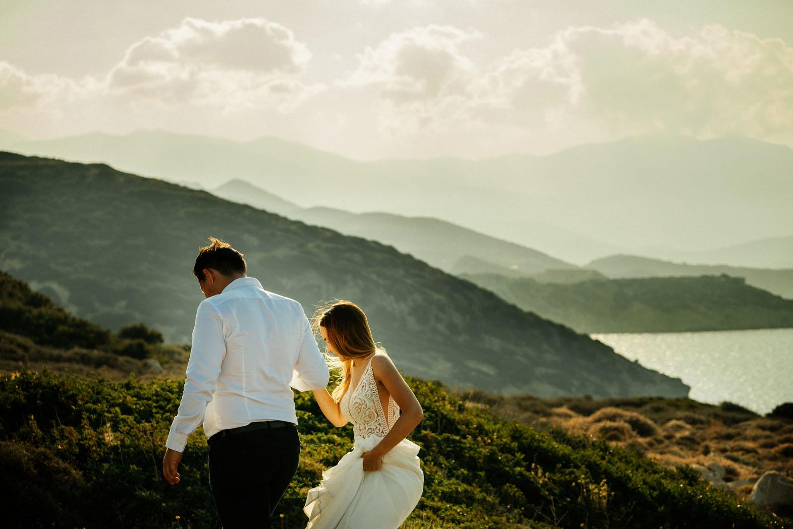 Plener ślubny na Krecie
