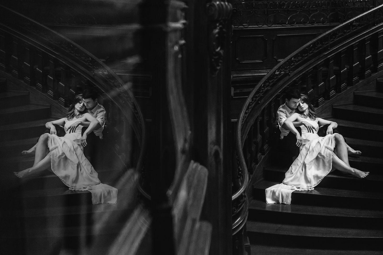 sesja ślubna w Pałacu Goetz'a