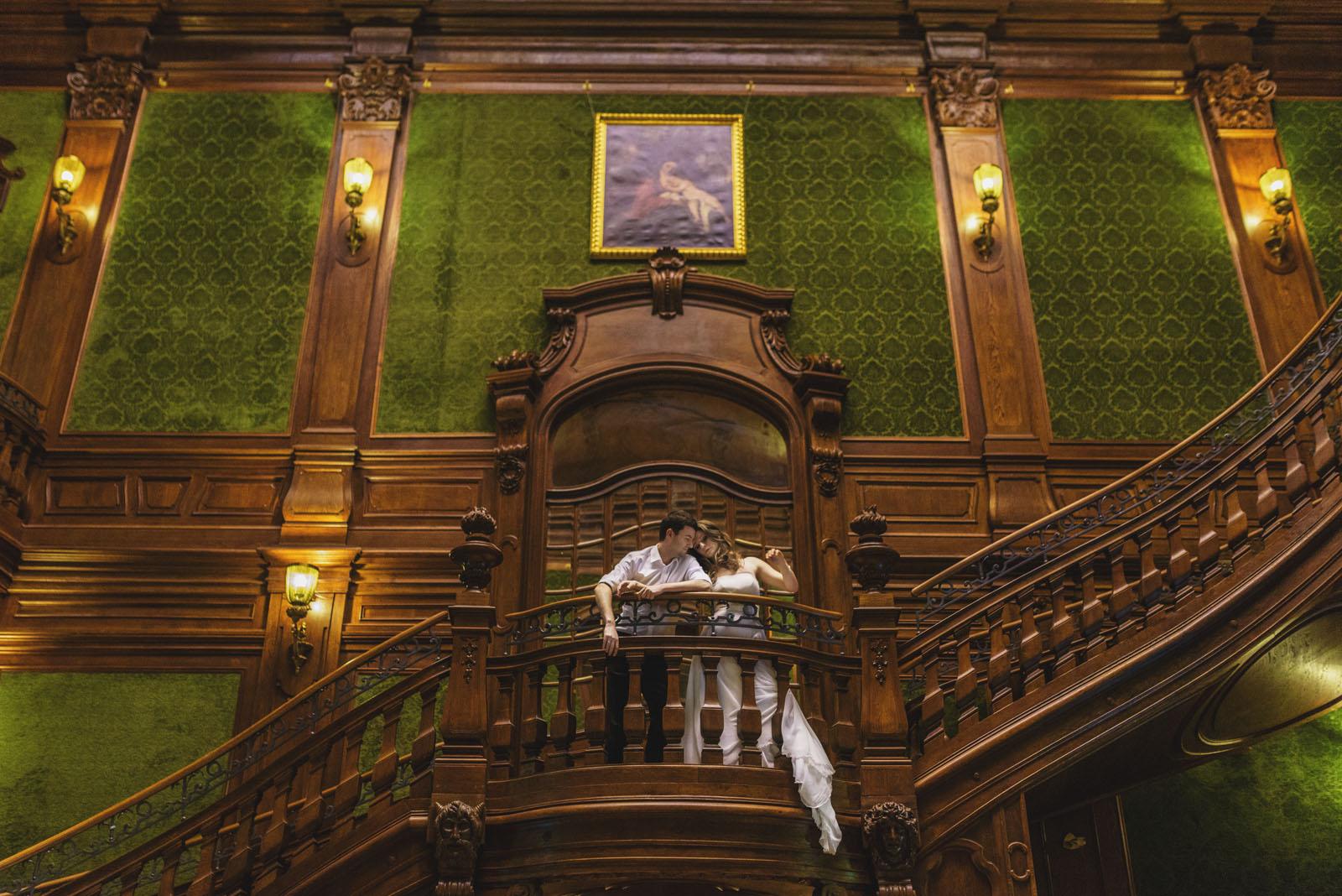 schody w pałacu Goetz'ów