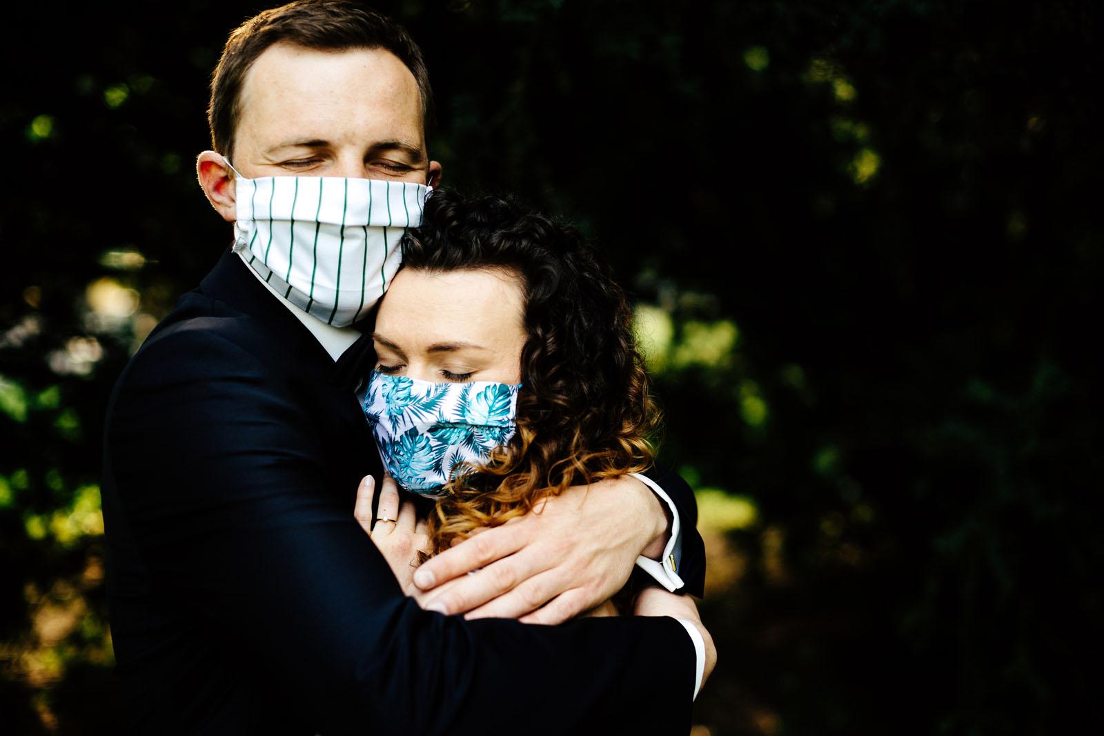 plener ślubny w czasie pandemii