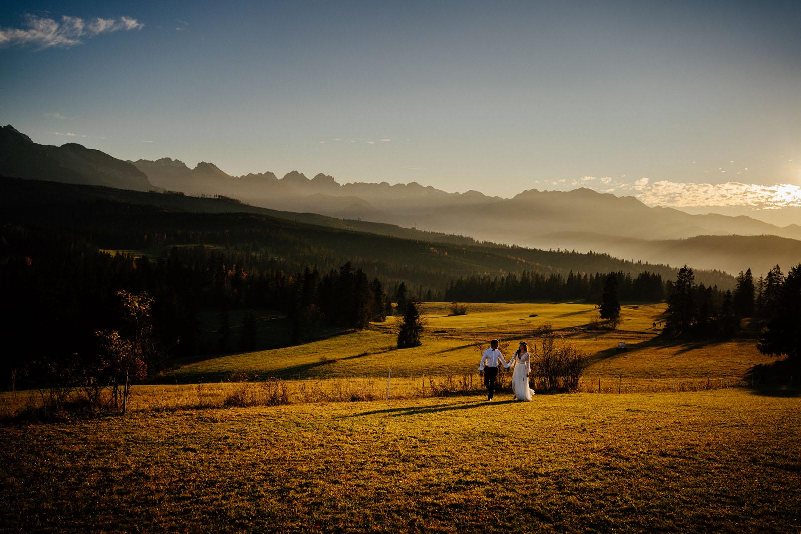 Plener ślubny w Łapszance
