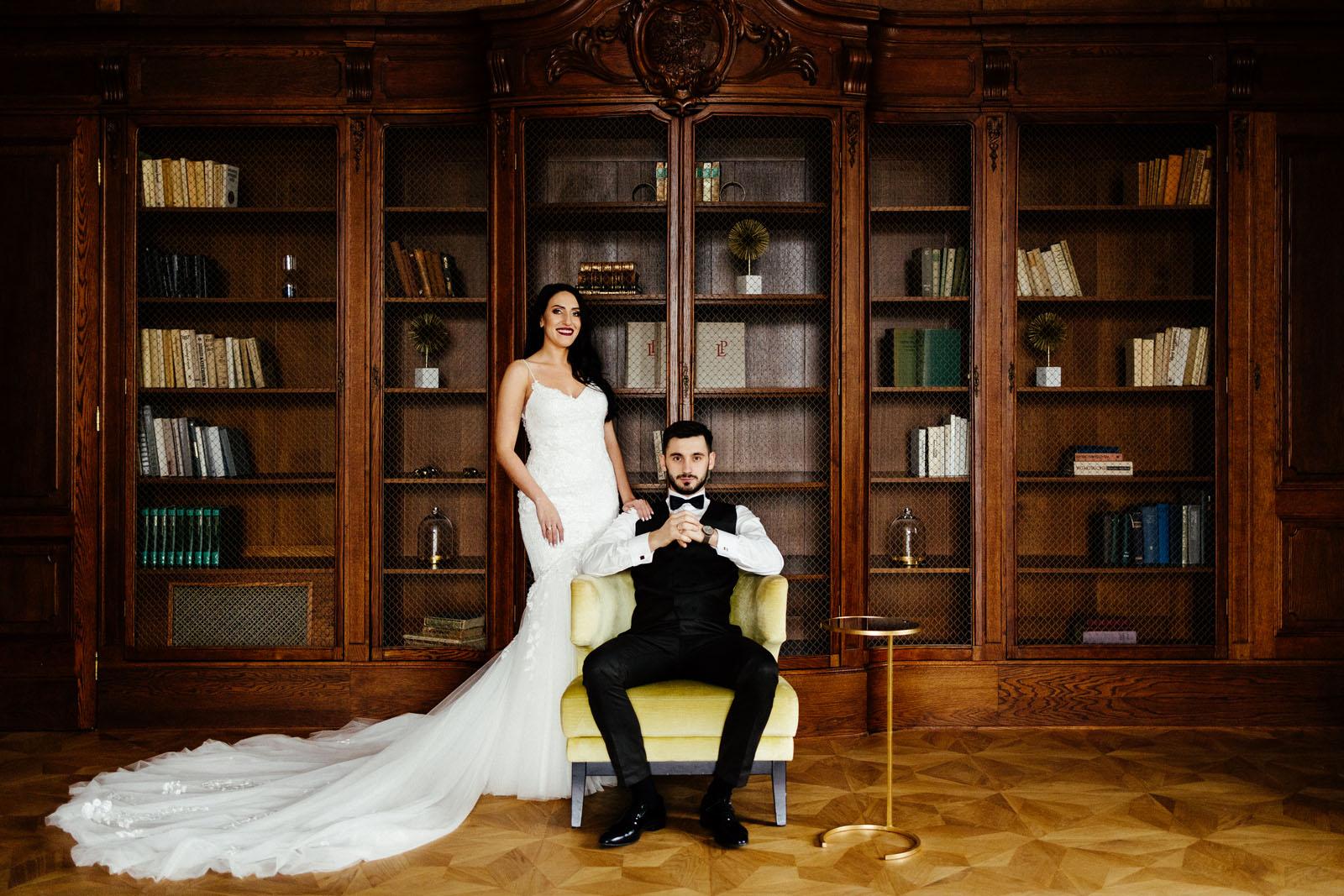 piękny plener ślubny w Pałacu Goetz'a