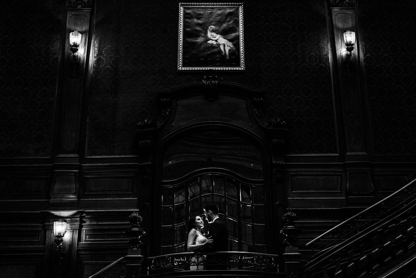 plener ślubny w Pałacu Goetz'a